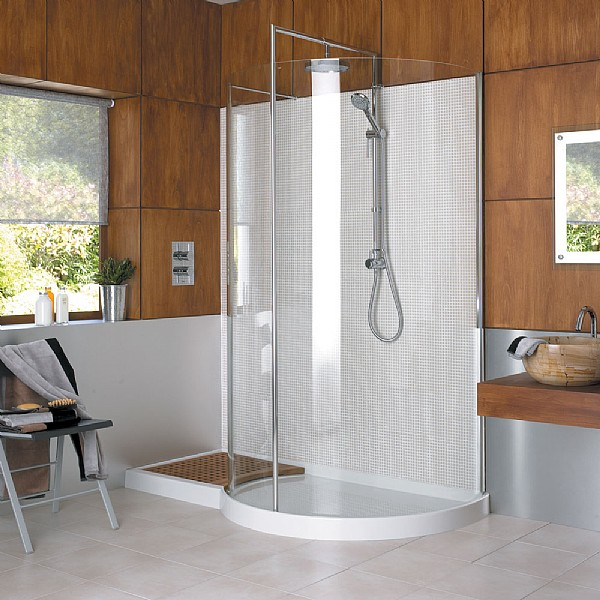 Matki Walk In Original Curved Corner Shower Enclosure Shower Enclosures Cp Hart