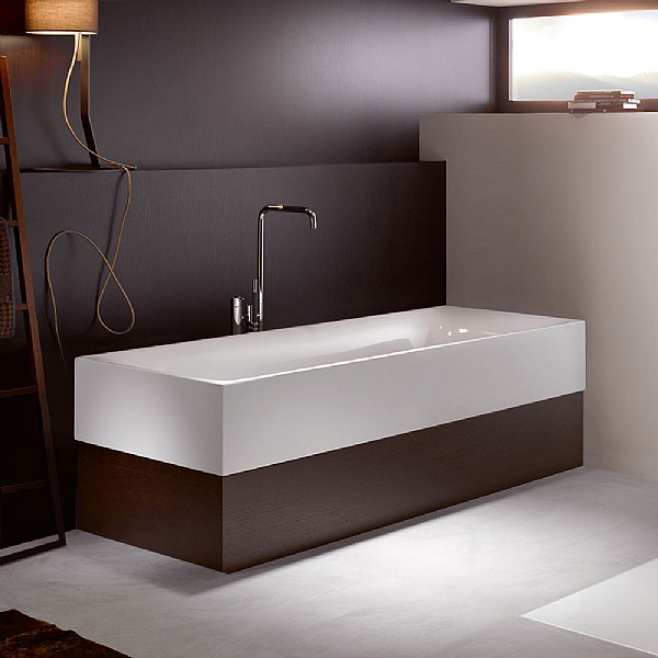 Bette Lux Highline Steel Freestanding Bath Freestanding
