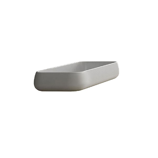 Cielo Shui Rectangular 800mm Countertop Washbasin
