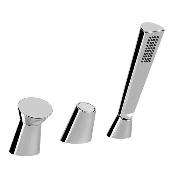 Gessi Cono 3-Piece Bath Filler & Diverter
