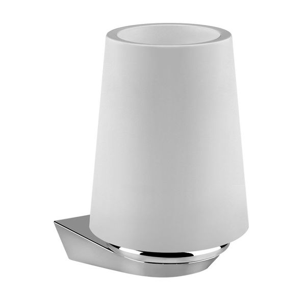 Gessi Cono Wall-Mounted Tumbler & Holder