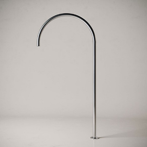 John Pawson Floor Standing Bath Spout 400mm
