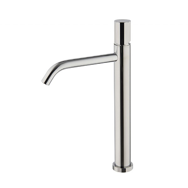 Spillo Tech V Tall Single Lever Basin Mixer with Click Waste
