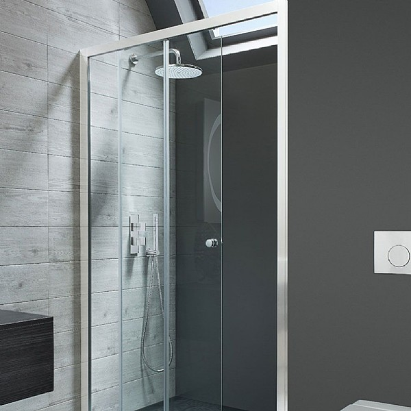 Simpsons Edge Sliding Shower Door