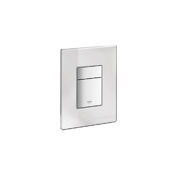 grohe skate cosmopolitan dual flush mirror glass flush plate flush panels cp hart. Black Bedroom Furniture Sets. Home Design Ideas