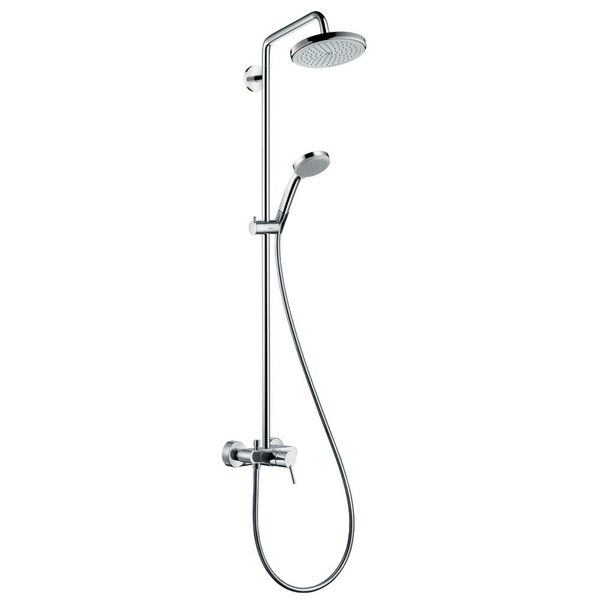 hansgrohe Croma 220 Manual Shower Pipe