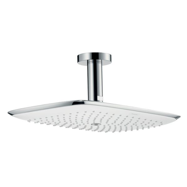 hansgrohe puravida rectangular shower head shower heads cp hart