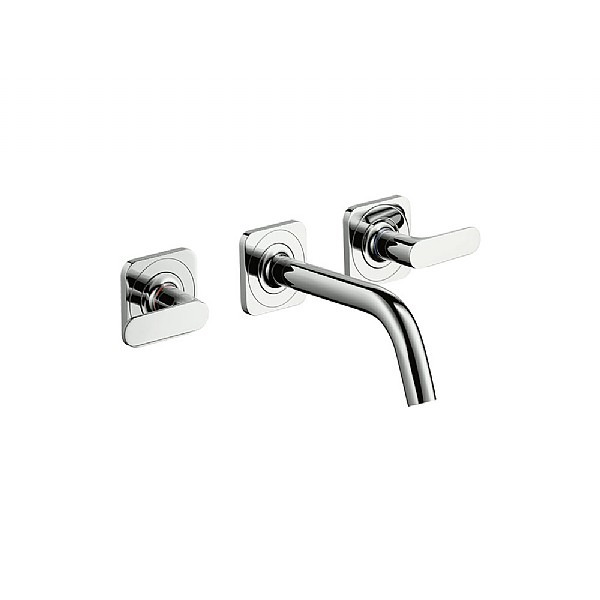 Axor Citterio M Wall Mounted 3 Piece Basin Mixer Basin