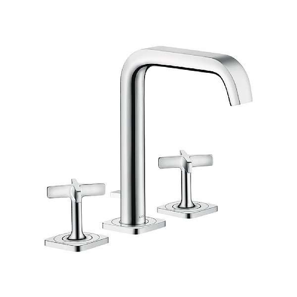 hansgrohe axor citterio e 3 piece basin mixer basin taps. Black Bedroom Furniture Sets. Home Design Ideas