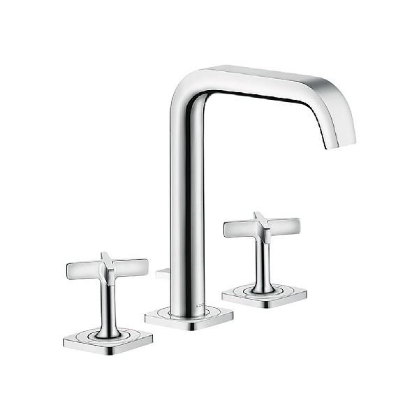 hansgrohe axor citterio e 3 piece basin mixer basin taps cp hart. Black Bedroom Furniture Sets. Home Design Ideas