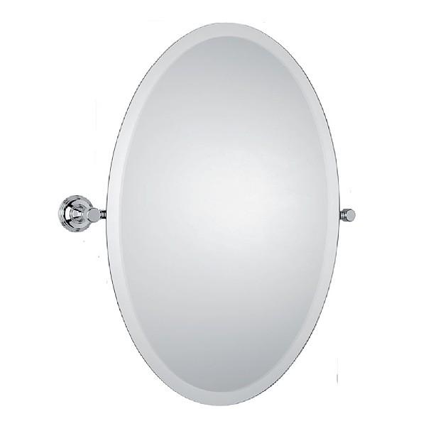 Samuel Heath Style Moderne Tilting Mirror Oval Bathroom Mirrors CP Hart