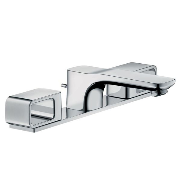 AXOR Urquiola 3-Piece Basin Mixer With Back Plate