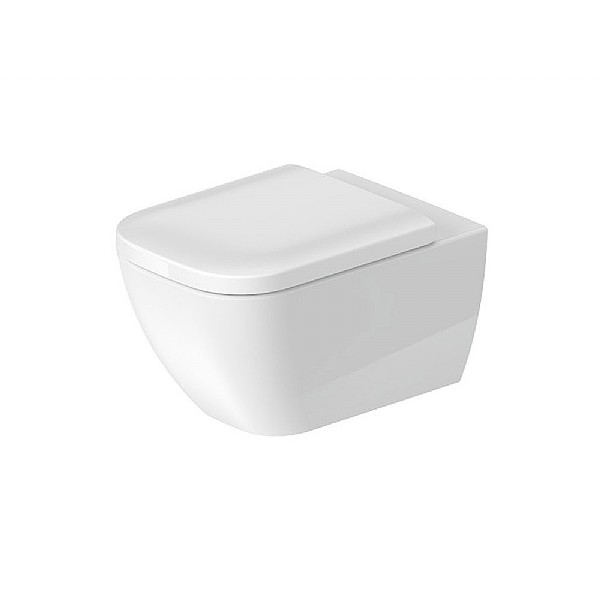 Duravit Happy D.2 Rimless Wall-Mounted Pan 540mm