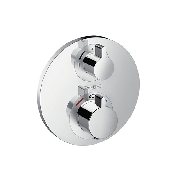 hansgrohe Ecostat S Thermostatic Mixer & Shut Off Valve