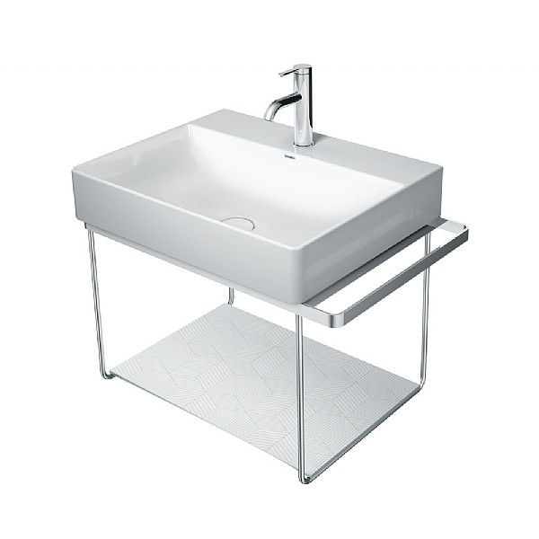 Duravit DuraSquare Wall-Mounted Basin Stand 665mm