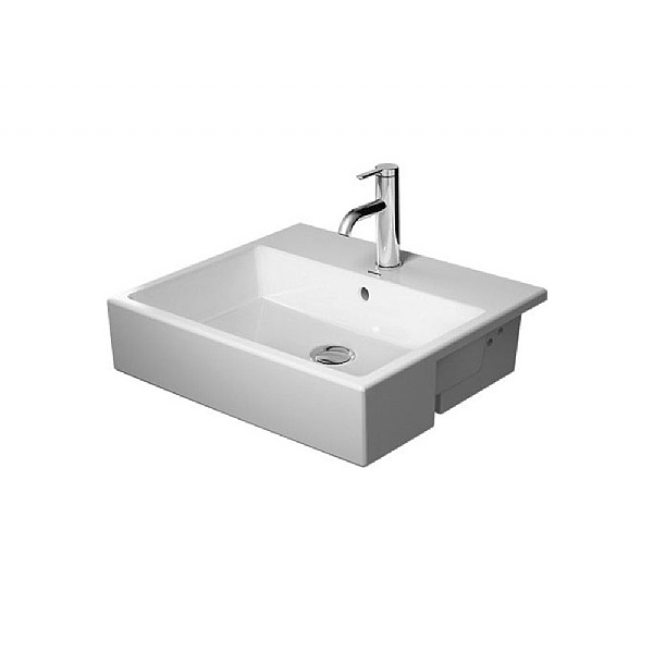Duravit Vero Air Semi-Recessed Washbasin 550mm