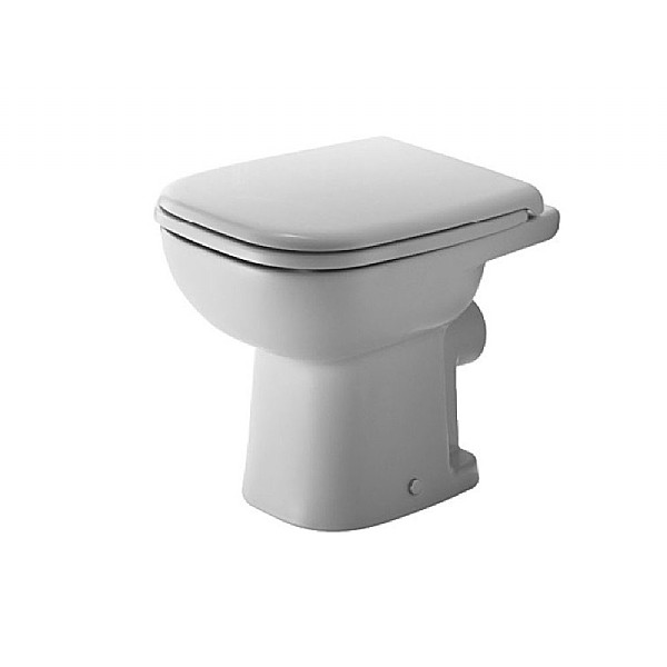 Duravit D-Code Back-To-Wall Pan