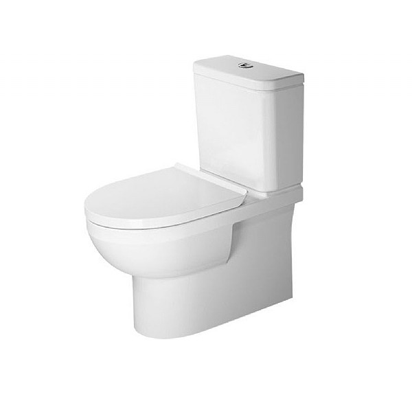 Duravit Durastyle Rimless Close Coupled Pan 650mm