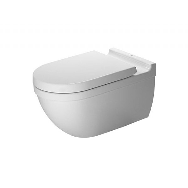 Duravit Starck 3 Wall-Mounted Pan With Durafix 620mm