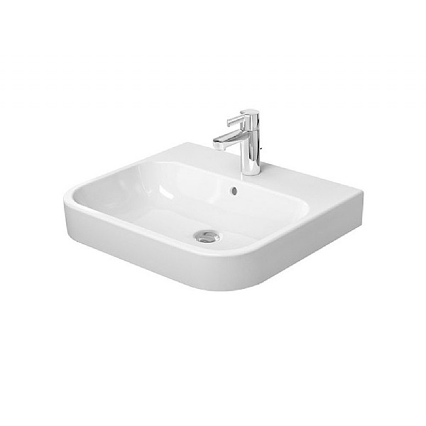 Duravit Happy D.2 Grounded Furniture Washbasin 600 mm