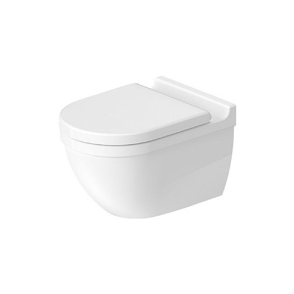 Duravit Starck 3 Rimless Wall-Mounted Pan 540mm