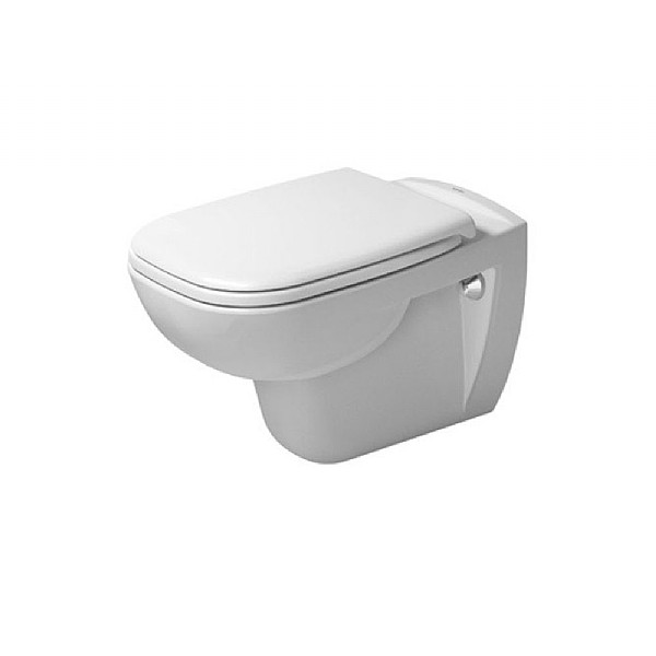 Duravit D-Code Rimless Wall-Mounted Pan
