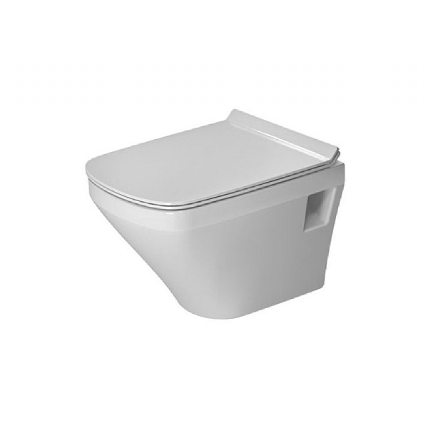 Duravit Durastyle Compact Rimless Wall-Mounted Pan 480mm
