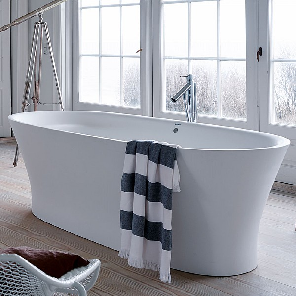 duravit cape cod freestanding bath freestanding baths. Black Bedroom Furniture Sets. Home Design Ideas