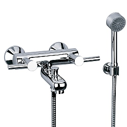 Charleston Arc Wall-Mounted Bath Shower Mixer