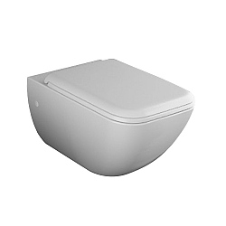 Cielo Shui Comfort Wall-Mounted Toilet With Fixings