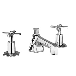 Chatwal Low Spout 3-Piece Basin Mixer
