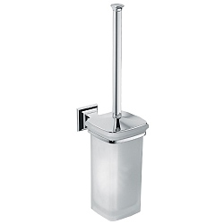 Portofino Wall-Mounted Toilet Brush Holder
