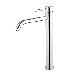 Spillo Tall Single Lever Basin Mixer with Click Waste