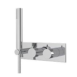 Spillo Thermostatic Mixer with Handshower & Diverter