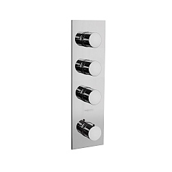 Spillo Three Way Thermostatic Shower Valve