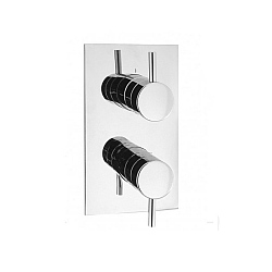 Crosswater Kai Lever Thermostatic Shower Valve Two Way Diverter