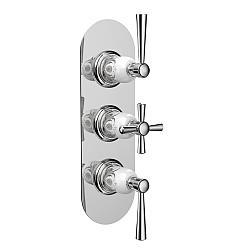 Darley Concealed Shower Valve for 2 Outlets