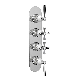 Darley Concealed Thermostatic Shower Valve for 3 Outlets