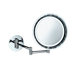 Decor Walther Wall-Mounted Round Extendable Mirror