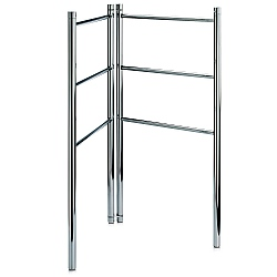 Decor Walther Freestanding Double 3 Bar Towel Stand