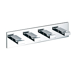 Decor Walther Four Hook Square Rack