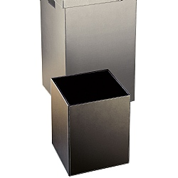 Decor Walther Square Leather Paper Bin