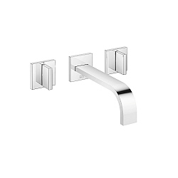 Dornbracht MEM Wall-Mounted 3 Piece Basin Mixer