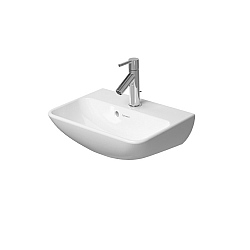 Duravit ME by Starck Handbasin 450mm Satin Matt White