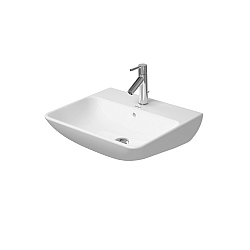 Duravit ME by Starck Washbasin 550mm Satin Matt White