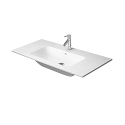 Duravit ME by Starck Washbasin 1030mm Satin Matt White