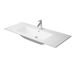 Duravit ME by Starck Washbasin 1230mm Satin Matt White