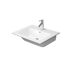 Duravit ME by Starck Washbasin 630mm Satin Matt White