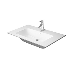 Duravit ME by Starck Washbasin 830mm Satin Matt White