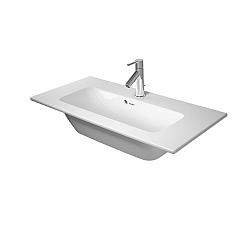 Duravit ME by Starck Compact Furniture Basin 830mm Satin Matt White